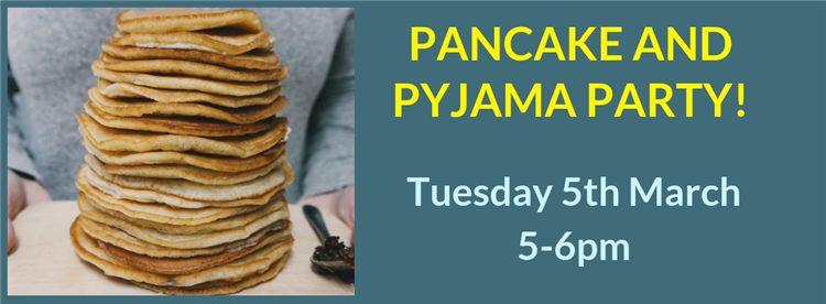 pancake and pyjama party for w